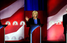 Sanders, Clinton spar over campaign financing during first Democratic primary debate of 2016