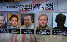 Americans released from Iran reunite with family, friends