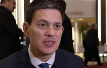 David Miliband challenges American politicians to accept Syrian refugees