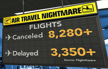 More than 8,000 flights canceled due to winter storm