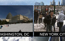 What's behind the differences in NYC and DC blizzard responses?