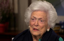 """Barbara Bush:  """"I don't know how women can vote"""" for Trump"""