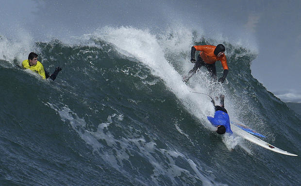 Titans of Mavericks surfing competition