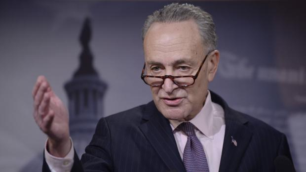 'Who Is His Acting Coach': Trump Rips Schumer for Crying Over Order