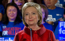 Watch: Hillary Clinton addresses supporters after winning in Nevada