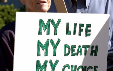 Arguing for the legal right to die