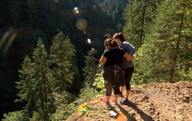 Friends make emotional return to Eagle Creek Trail