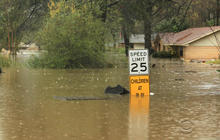 Flash floods rock northwest Louisiana