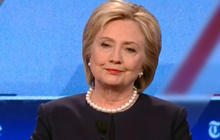 Dem Debate: Will Hillary Clinton drop out if indicited?