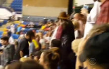 Protester attacked while leaving Trump rally