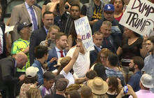 John Dickerson breaks down Trump rally violence