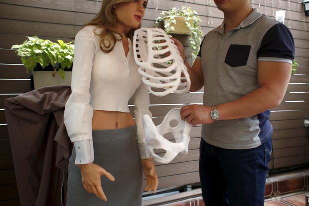 Meet the Scarlett Johansson humanoid