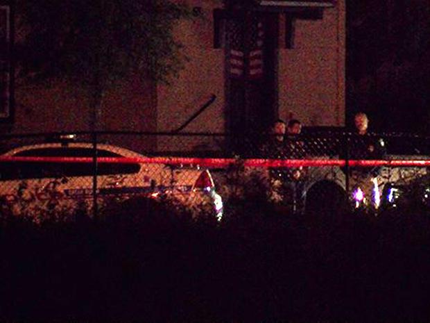 巴吞鲁日警方在Lousiana州立大学校园附近发生双重致命射击现场