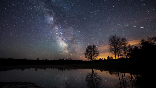 Astrophotographer Mike Taylor, who is based in central Maine, captured ...