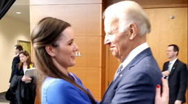 Vice President Biden meets Patient No. 1
