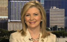 "Rep. Marsha Blackburn discusses ""bathroom law"" debate and Supreme Court birth control sidestep"