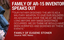 Family of AR-15 creator says it's not for civilians