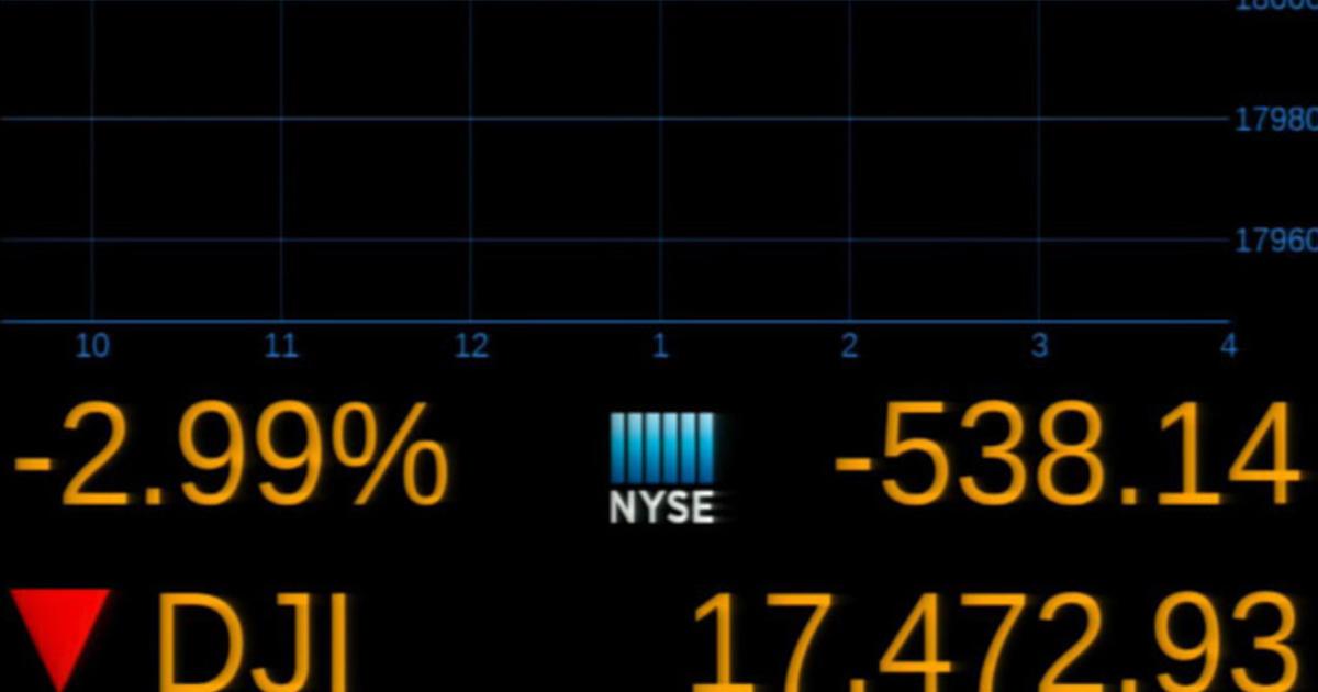 U.S. markets plunge post-Brexit vote