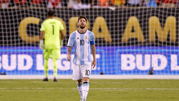 Shocker from soccer superstar Lionel Messi - CBS News Soccer News