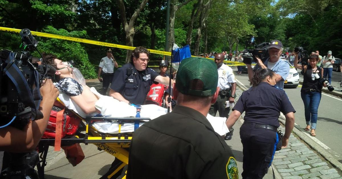 Possible amputation after explosion in Central Park injures man