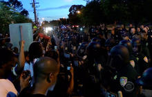 Baton Rouge protests turned tense and dangerous