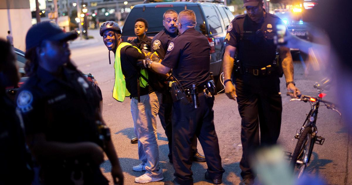 Protests against police violence continue across US
