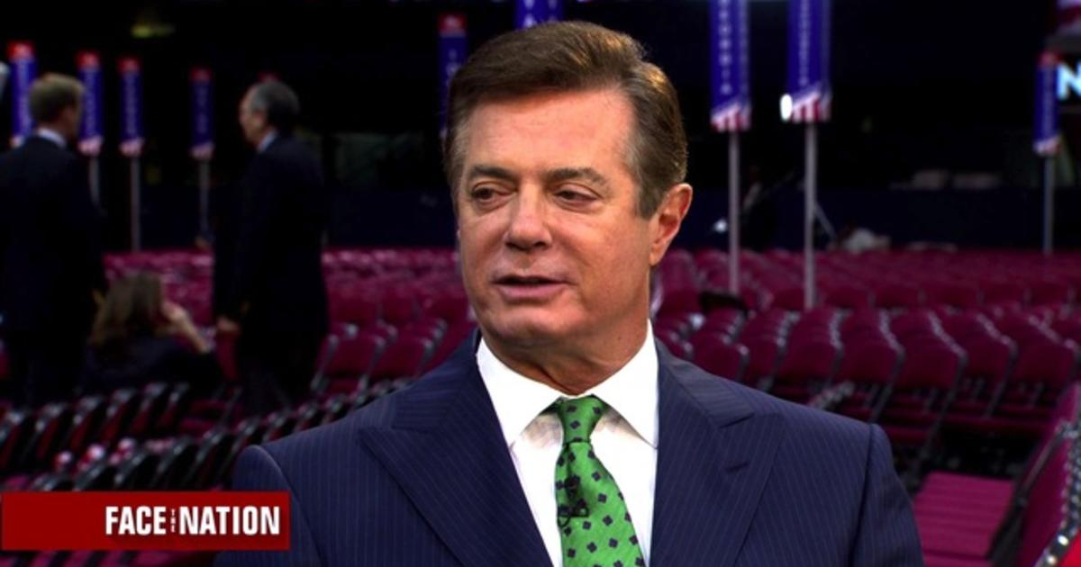 Full interview: Paul Manafort, July 17