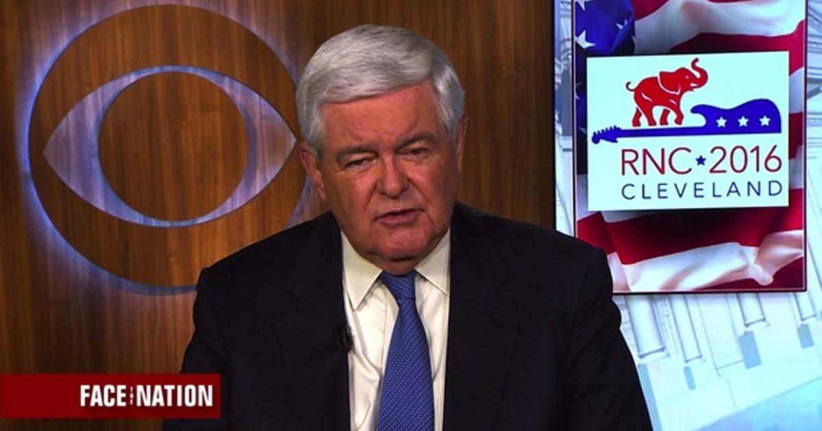 Gingrich talks VP vetting process, why Trump is a pirate