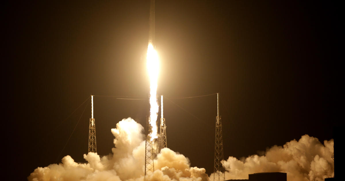 SpaceX launches critical space station docking port for NASA - CBS News