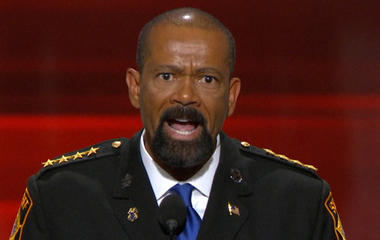 "Sheriff Clarke at RNC: ""Blue Lives Matter"""
