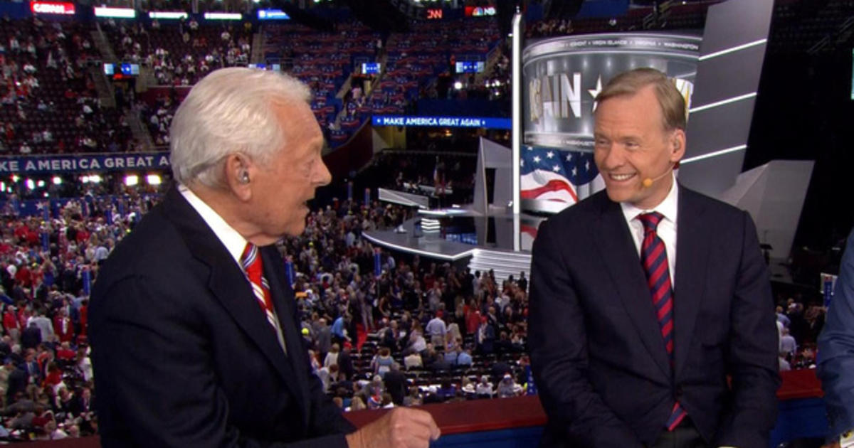 Dickerson and Schieffer reflect on the 2016 RNC