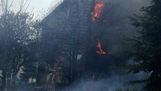 Firefighters: Plane Crashes in Northern Illinois City