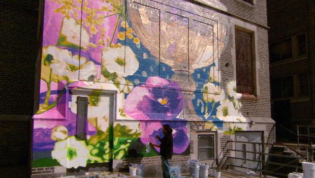 费城的壁画 - 花 -  620.jpg
