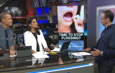 Is flossing your teeth a waste of time?