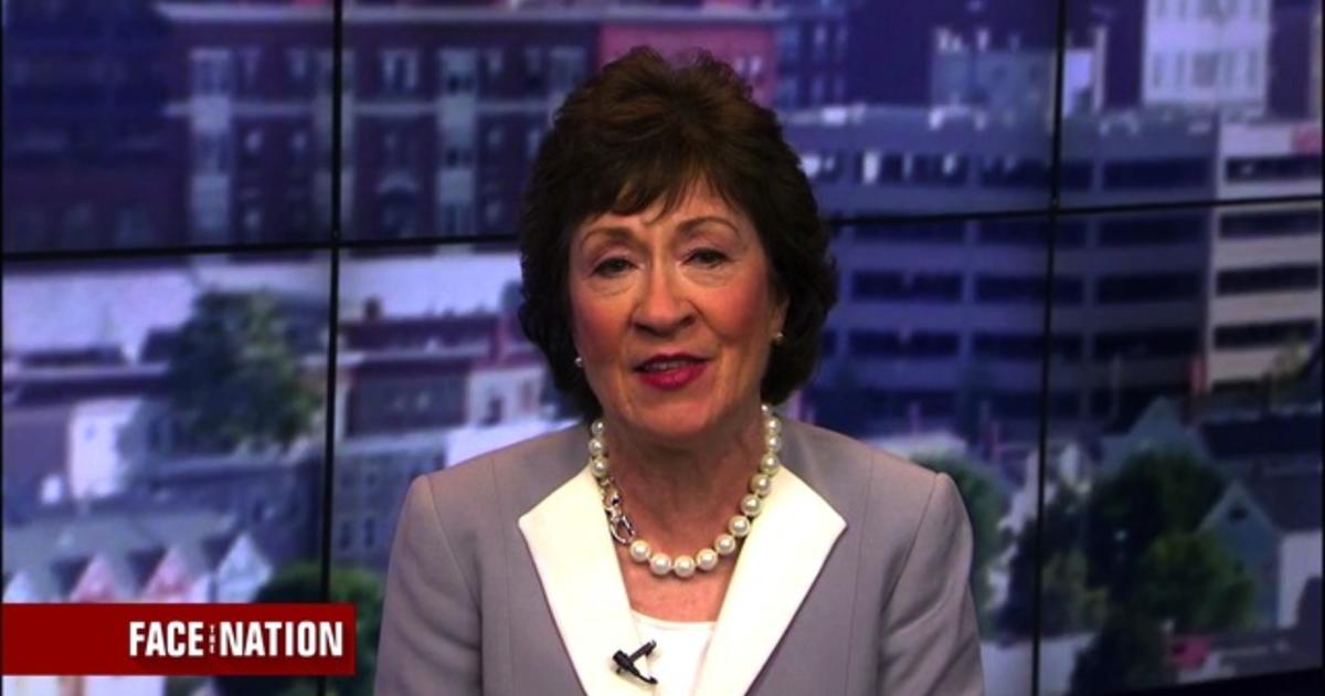 "Republican Sen. Susan Collins: ""Im taking a look at the Libertarian ticket"""