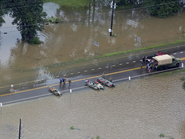 Deadly flooding in Louisiana