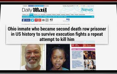 Ohio botched execution survivor: Don't let them try again