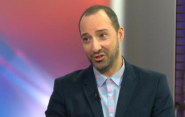 """Veep"" star Tony Hale talks about life as an actor, the 2016 election, and more"