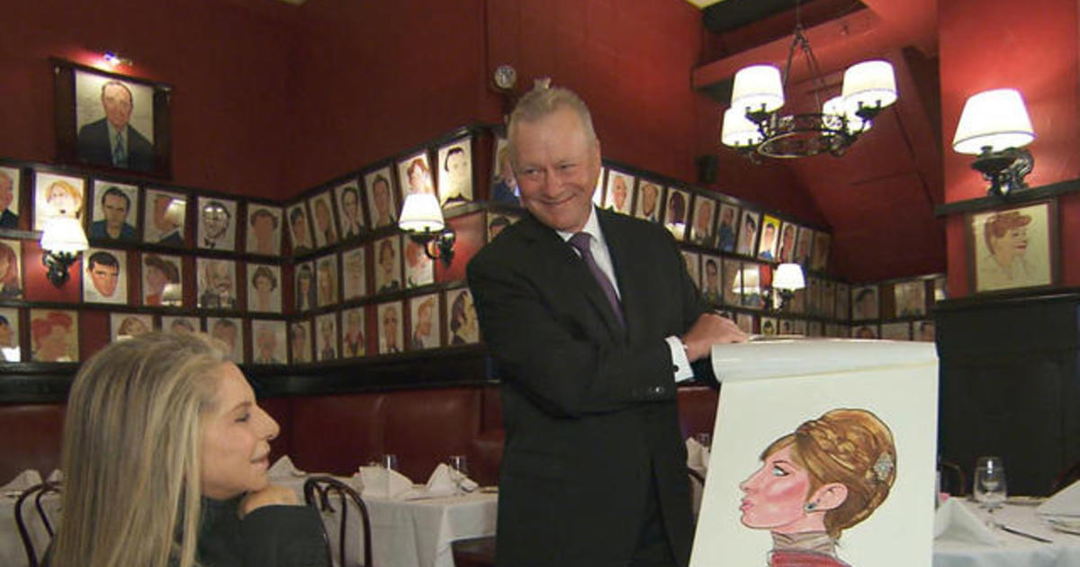 Barbra Streisands caricature is back at Sardis