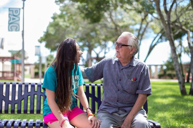 This 82 year old attending college with his granddaughter will inspire you