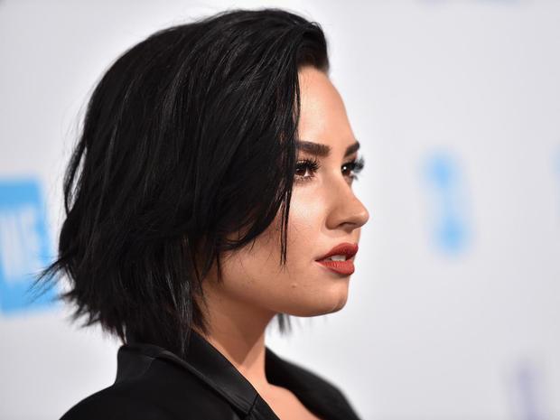 Demi Lovato Getty Music Video Cast