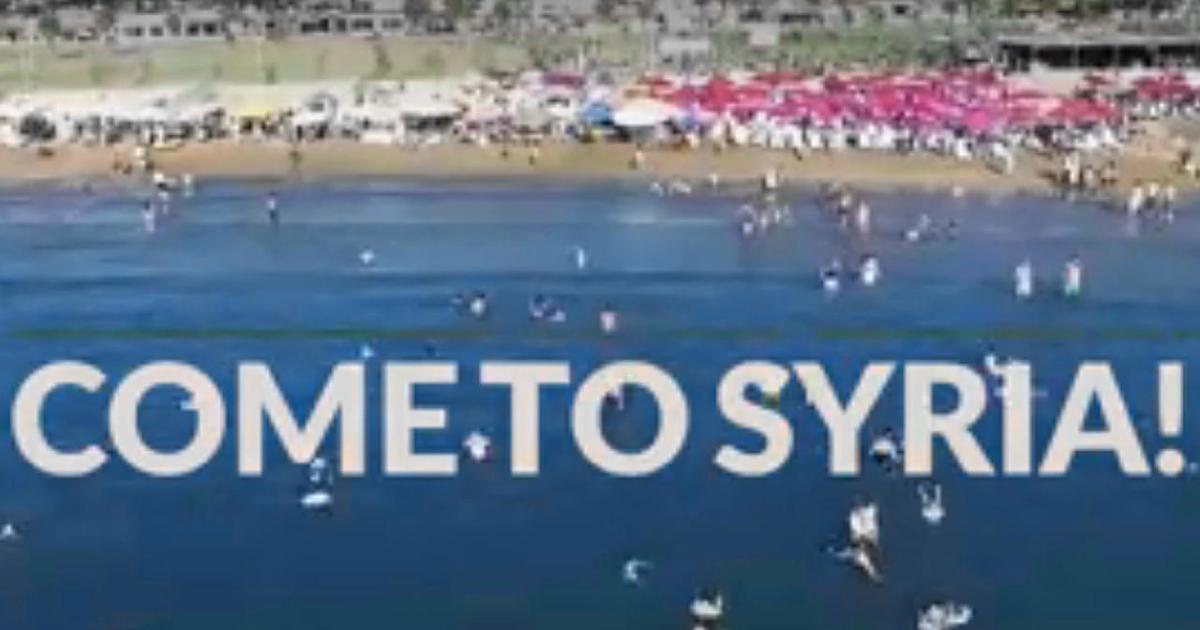 As Isis Bombs Kill Dozens Syria Tries To Lure Tourists Cbs News