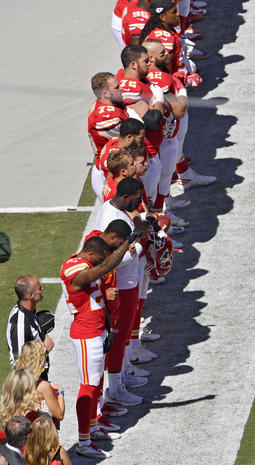 Athletes protesting racial injustice