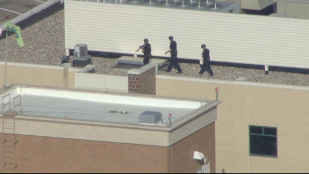 Denver hospital on lockdown after report of gunman