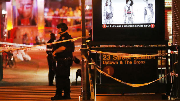 Explosions rock NYC, N.J.