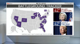 Latest 2016 poll shows tie in key battleground states
