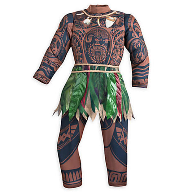 """Disney pulled the costume of the character Maui from the movie """"Moana"""" after it was likened to blackface (credit:  DisneyStore.com/CBS News)"""