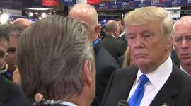 "Interview: Trump explains ""your president"" debate remark"