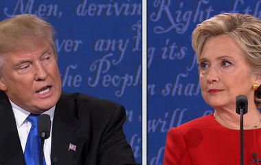 Presidential Debate Part 7: Clinton's stamina