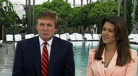 Donald Trump and Alicia Machado's 1997 interview with CBS News